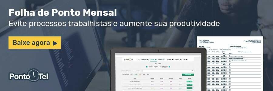 download folha de ponto