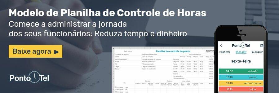 banner 16 planilha de controle de horas v2 - Calculadora de Horas Trabalhadas - No Papel ou na Planilha