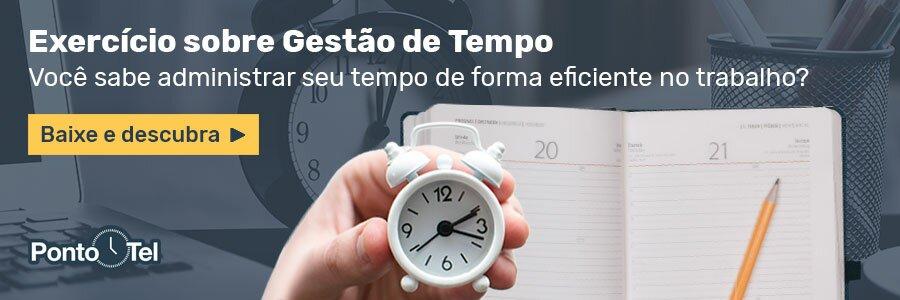 banner 21 exercicio gestao de tempo 1 - Gestão do Tempo: O que é, Treinamentos e como aplicar na empresa
