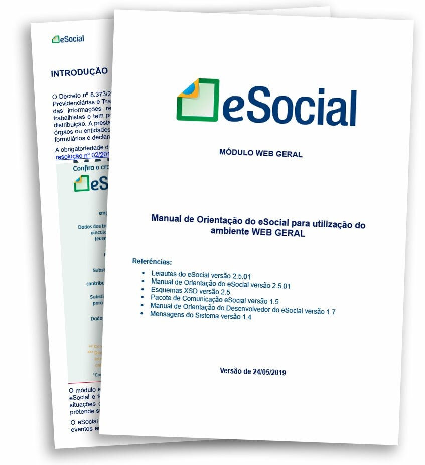 portaria 373 popup - Download Manual eSocial