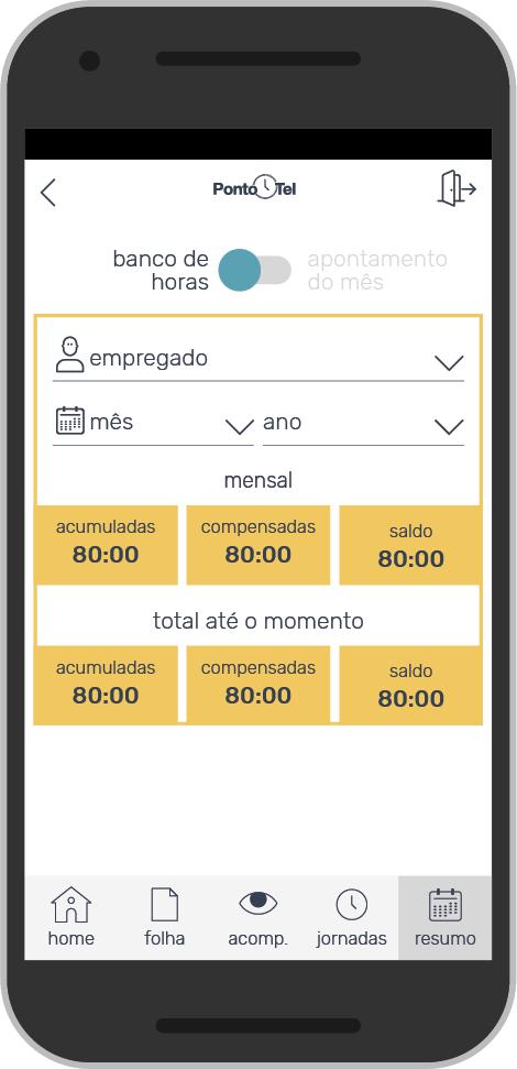 PontoTel - Gestão de Banco de Horas Automatizada