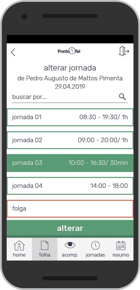 PontoTel - Organize suas escalas e jornadas de trabalho