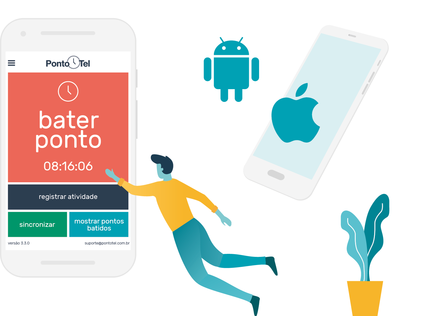 registro pontotel_ponto por android e- os